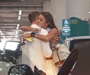 airport, relationships, and couple goals image