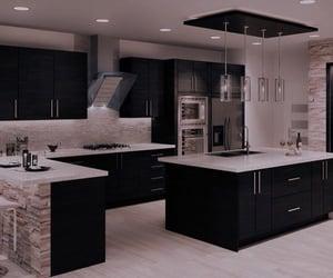 cozinha, decoration, and kitchen image