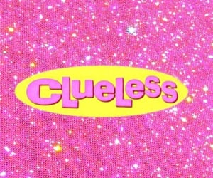 wallpaper, Clueless, and pink image
