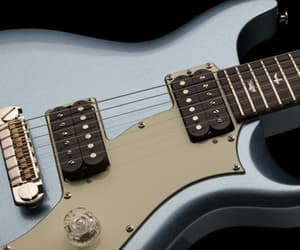 guitarist, guitars, and guitar store image