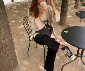 blogger, coffee, and converse image