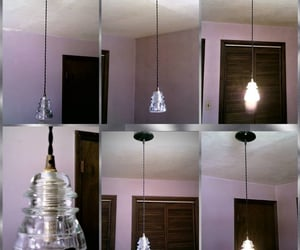 chandelier, etsy, and light image
