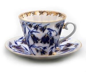 cobalt blue, etsy, and fine china image