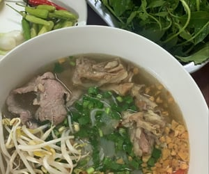 cuisine, food, and pho image