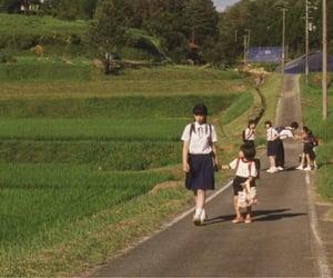 cinema, japan, and school uniform image