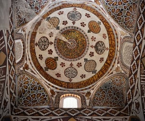 art, asia, and ceiling image