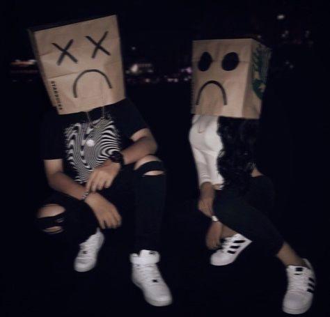 aesthetic, dark, and bag image