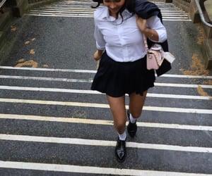 boarding school, fashion, and girls image