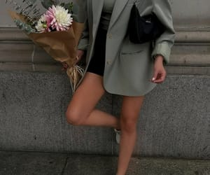flowers, blogger, and fashion image