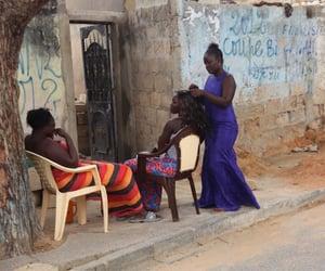 africa, hair, and hair dresser image