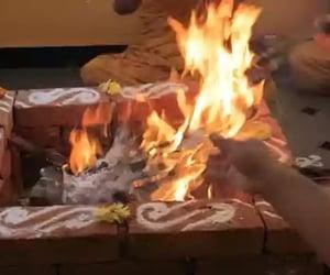 ritual, dharm, and yajna image