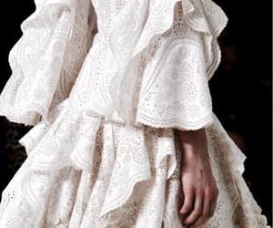 fashion, Alexander McQueen, and white image