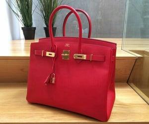 bag, handbag, and hermes image