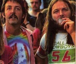 Paul McCartney, david gilmour, and Pink Floyd image