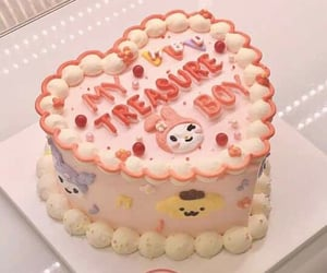 cake, cute food, and mymelody image