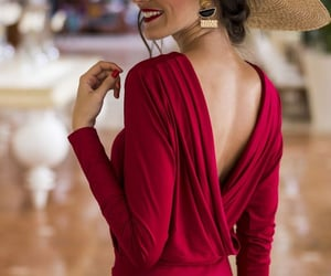 dress, sophisticated, and elegant image