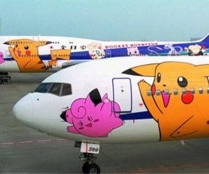 plane and pokemon image
