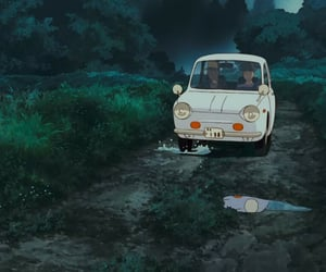 aesthetic, anime, and car image