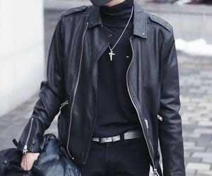 leather jacket, vixx, and jung taekwoon image
