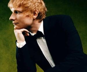 suit, ed sheeran, and british gq image