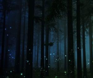 childhood, fireflies, and magical image