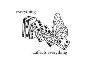 13 reasons why, quotes, and butterfly image