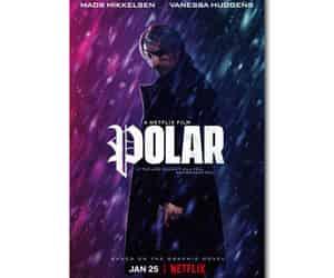 graphic novel, polar, and netflix image