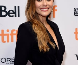 elizabeth olsen, premiere, and sorry for your loss image