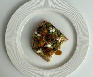 aesthetic, cherry tomatoes, and cream cheese image