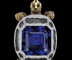 blue, pendant, and jewelry image