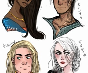 fae, throne of glass, and sorscha image