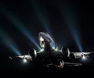 aeroplane, dark, and header image