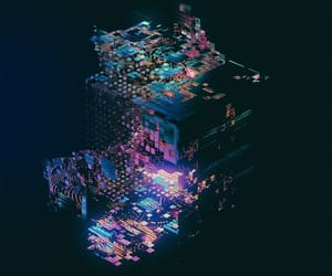 abstract, future, and pattern image