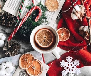christmas, winter, and tea image