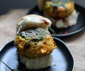 burger, indian food, and asian food image