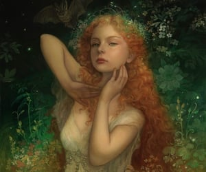 art, ethereal, and fae image