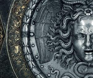 athena, medusa, and greek image