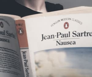 bookworm, sartre, and existentialism image