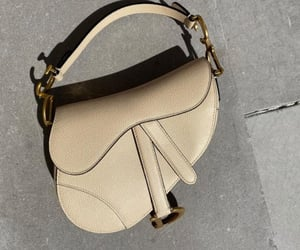 bag, beige, and Christian Dior image