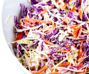 bbq, burgers, and coleslaw image