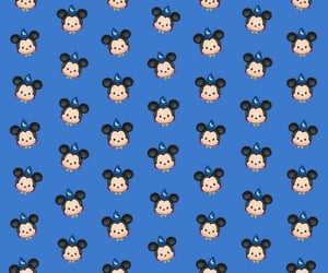 blue, disney, and wallpapers image