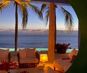 aesthetic, beach, and lounge image