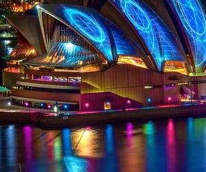 australia, beautiful, and night image