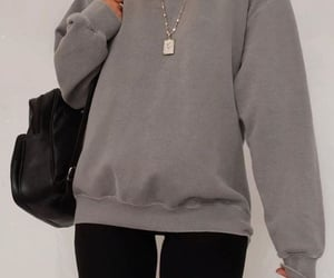 outfit, street style, and causal looks image
