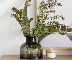 modern design, smoked glass vase, and target decor image