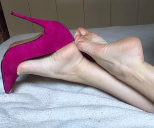 barefoot, foot, and only feet image