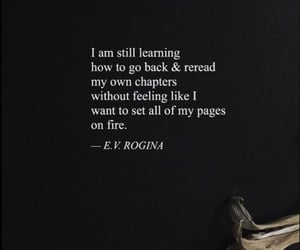 chapter, fire, and pages image