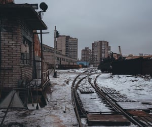 bricks, building, and railway image