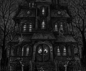 art, fantasy, and dark darkness image
