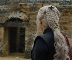 silver hair, wallpaper, and game of thrones image
